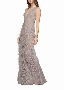 bcbg max azria bcbgmaxazria aislinn geometric lace gown With bcbg max azria robe