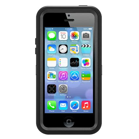 otterbox defender iphone 5c otterbox defender series for iphone 5c black