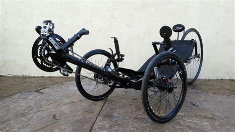 Bengal Black Catrike 700 Racing Trike