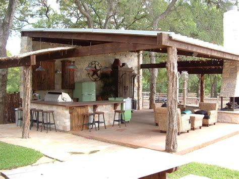 Backyard Saloon - 22 outdoor kitchen bar designs decorating ideas design
