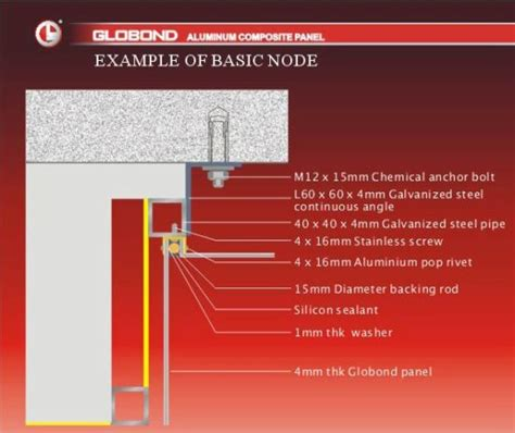 china fixing accessories  aluminum composite panels china aluminum composite panel wall