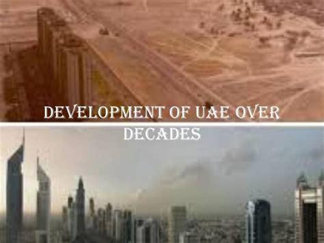 development  uae  decades authorstream