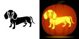 Dachshund Pumpkin Template new pumpkin stencils animals faces and more