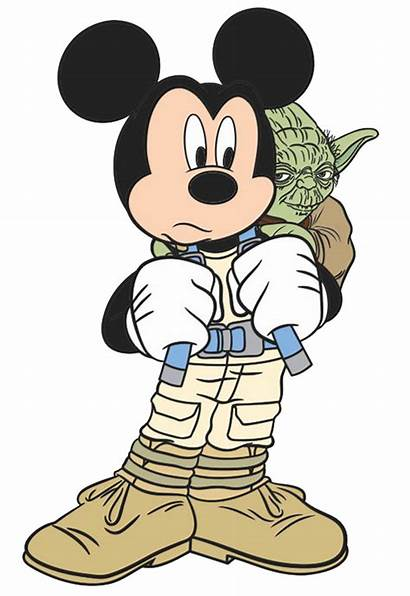 Wars Clipart Yoda Clip Mickey Mouse Luke