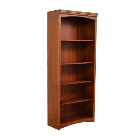 68% Off  Bassett Bassett Wooden Bookshelf Storage
