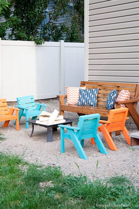 easy diy patio chairs a houseful of handmade
