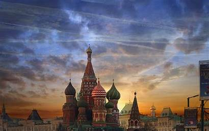 Square Moscow Desktop Wallpapers Cathedral Basil Saint