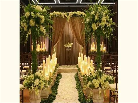 amazing church wedding decoration ideas weddceremony