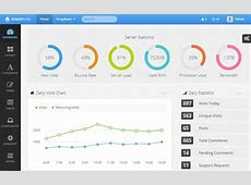15 Awesome Bootstrap 3 Admin & Dashboard Templates