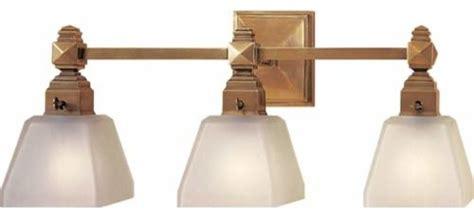 Antique Brass Normandie Faceted Three-light Fixture