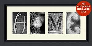 alphabet art photography uk personalised name frames With letter photography name art