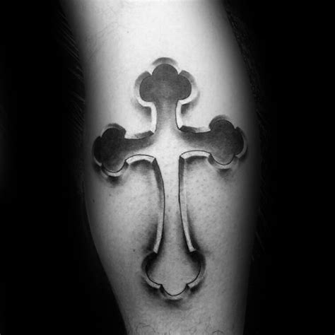 heart touching small religious tattoos  cross