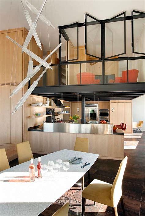 kitchens   mezzanine   space savvy home ideas