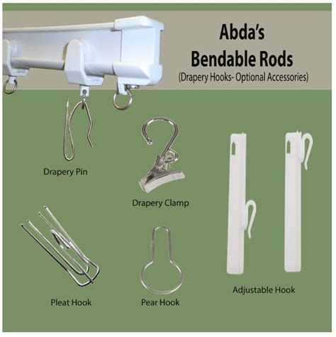bendable rods abda window fashions