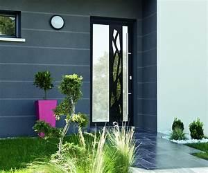 Porte Entrée Aluminium Rénovation : porte aluminium isolante komilfo dijon ~ Premium-room.com Idées de Décoration