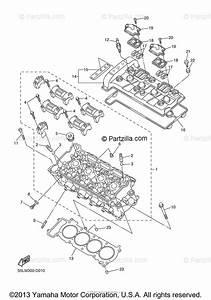 Yamaha Motorcycle 2005 Oem Parts Diagram For Cylinder