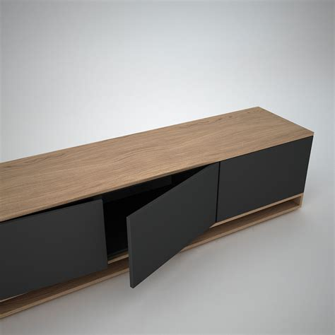 Low Sideboards harlem low sideboard 3 anthracite join furniture