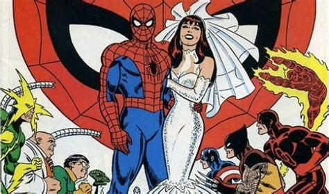 peter parkermary jane watson marriage