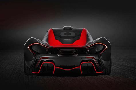 mso creates custom black red mclaren p performancedrive