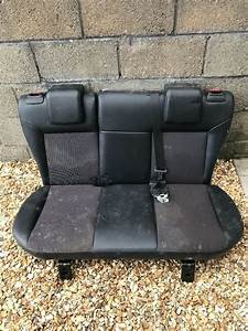 Ford Fiesta Zetec S Rear Seats