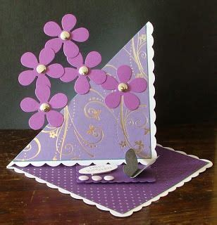 twisted easel card easel cards scrapbook cards