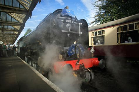 steam celebrating the opening of enthusiast celebrate britain s steam engine in 50