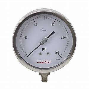 100 Psi 5 U0026quot  Pressure Gauge