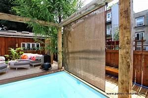 rideaux extrieur pour terrasse stunning paravent stores With rideaux pour terrasse exterieur 8 pare vue separatif