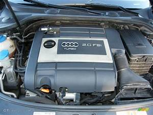 2007 Audi A3 2 0t 2 0 Liter Fsi Turbocharged Dohc 16