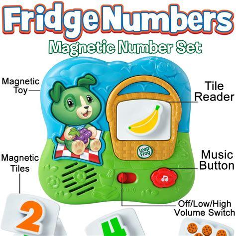 magna tiles amazonca leapfrog fridge numbers magnetic set magnet felt