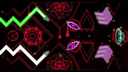 Geometry Dash Wallpapers Background Banner Maker Template