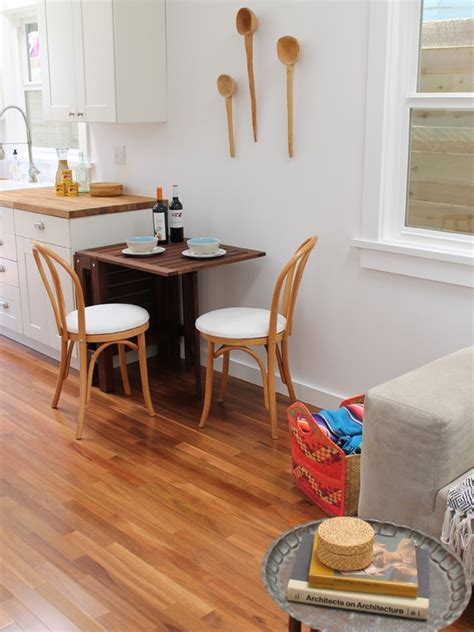 modern kitchen tables  small spaces