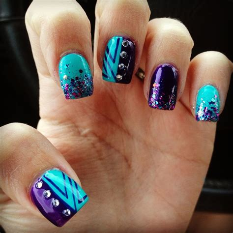 teal nail designs best nail designs for this week pretty designs