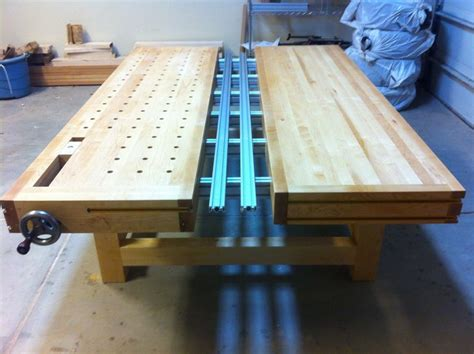 split top roubo mft  benchcrafted incra