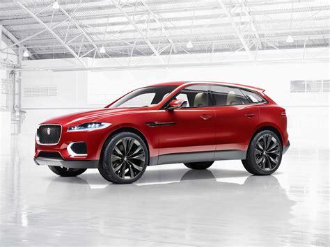Jaguar Land Rover F-pace Detroit Auto Show 2015