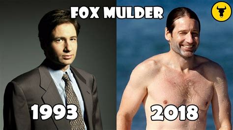 The X-Files - Then and Now 2018 Real Name and Age - YouTube