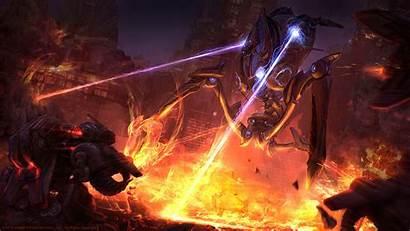 Starcraft Colossus Sc2 Protoss Dwemer Elder Scrolls