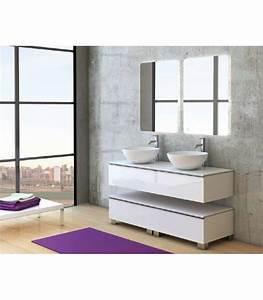 Meuble Salle De Bain Suspendu : fixation meuble salle de bain suspendu ~ Edinachiropracticcenter.com Idées de Décoration