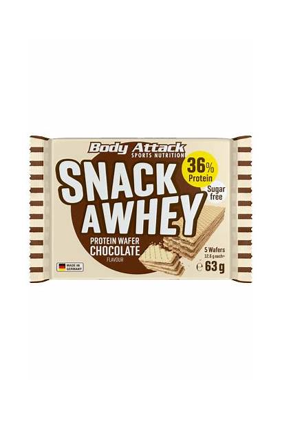 Whey Snack 63g Attack Restposten Wafer