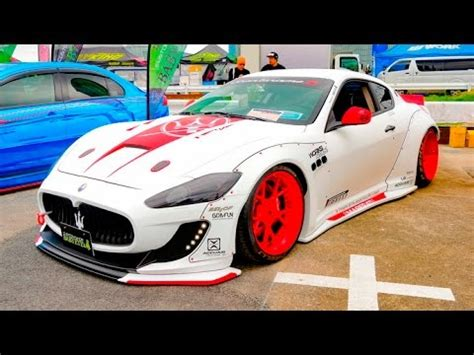 maserati modified hd lb works maserati gran turismo s modified マセラティ グラン