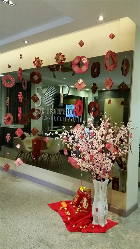 chinese  year decoration ideas  office