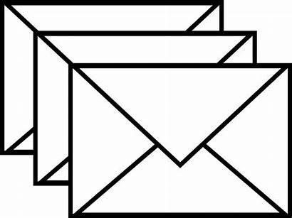 Envelope Mail Clip Clipart Letter Email Envelopes