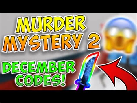 roblox murder mystery  codes  youtube codes