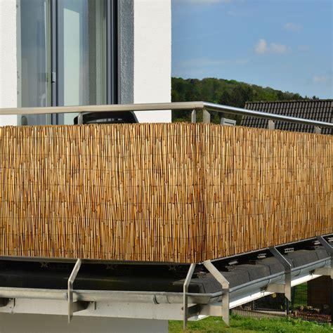 Balkon Sichtschutz Schilf by Sichtschutz Schilf Sichtschutzmatte Schilfmatte