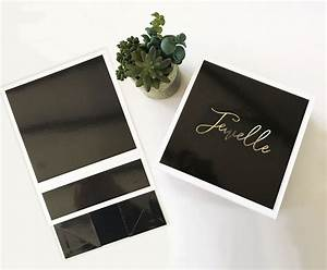 personalized black gift boxes