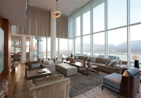 luxury condos in vancouver contemporary penthouse interior design in vancouver by