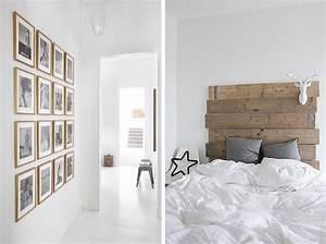 Crea lou decoration nordique for Idee deco cuisine avec lit en bois scandinave