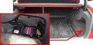 Fuse Box Diagram Audi A5    S5  2010