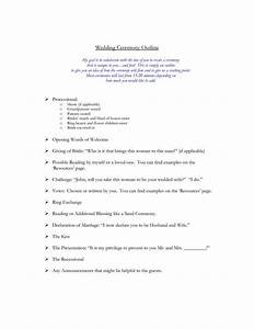 interfaith wedding ceremony outline mini bridal With christian wedding ceremony outline