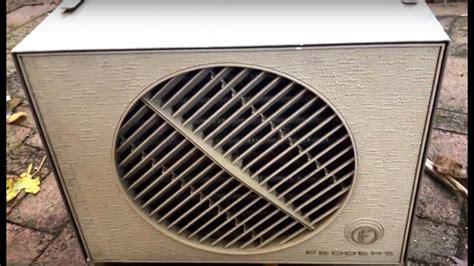 fedders weather wheel casement air conditioner  btu youtube